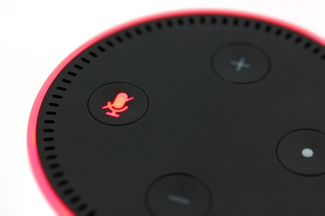 Amazon Echo Dot in funzione