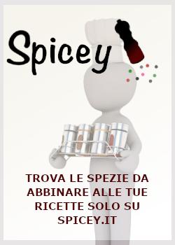 Spicey.it abbina le spezie ai tuoi piatti