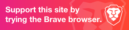 Scarica il browser Brave e supportaci!
